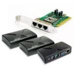 Menggunakan IP address berbeda di setiap client NComputing
