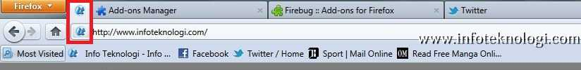 Cara menggunakan fitur Pin as Apps di firefox