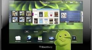 Playbook support Android Apps