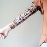 Wanita mentato tangannya dengan 152 foto profile teman di Facebook