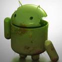 Gambar android rusak