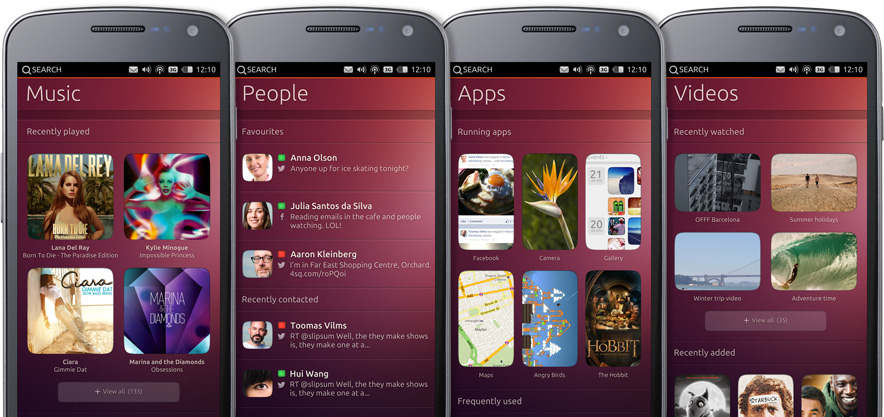 Screenshot Ubuntu Phone