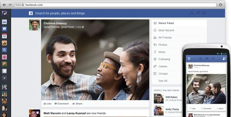 facebook news feed (beranda) terbaru