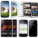 Handphone Android terbaik di tahun 2013