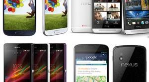 daftar handphone android terbaik 2013