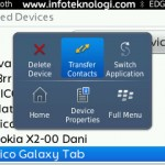 Transfer contact phone book dari BlackBerry ke Android