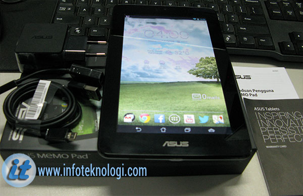 Review Tablet Android Asus MEMO Pad ME172V