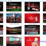 Download Wallpaper Manchester United Champ20ns 2013 (Hi Res)