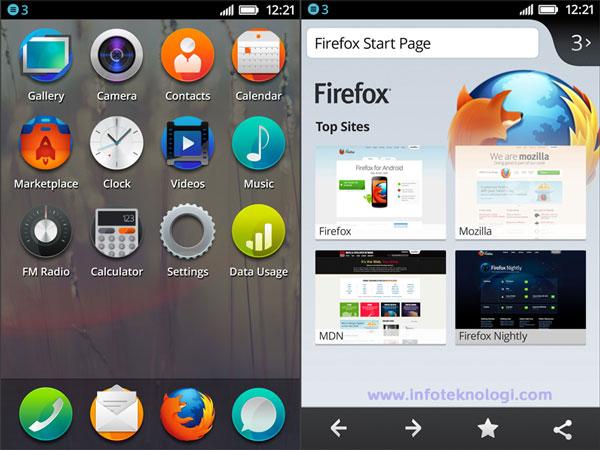 firefox os interface