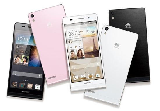 Huawei Ascend P6, Android tertipis dengan kamera depan 5 Megapixel