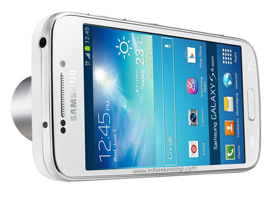Samsung Galaxy S4 Zoom – HP Android dengan kamera Optical Zoom 10X