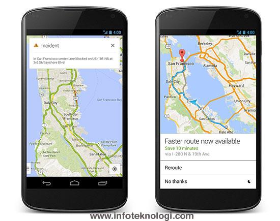 Google Maps for Android hadir dengan navigasi yang lebih baik