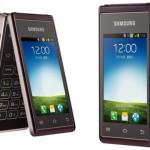 Samsung memproduksi handphone Android dual LCD screen