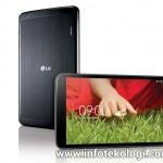 LG merilis LG G Pad 8.3 untuk bersaing dengan iPad Mini
