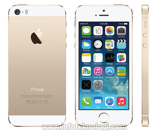iphone5s gold emas