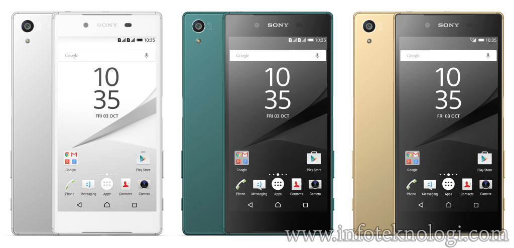hp android xperia z5